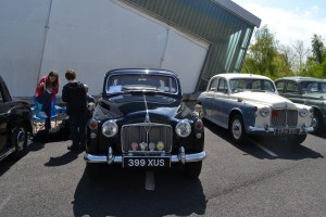 Nick's Rover on display at the Rover P4 Drivers Guild Annual Show