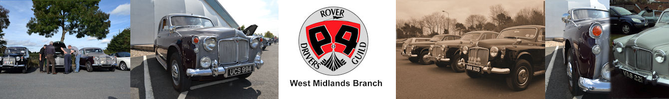 Rover P4 Drivers' Guild West Midlands